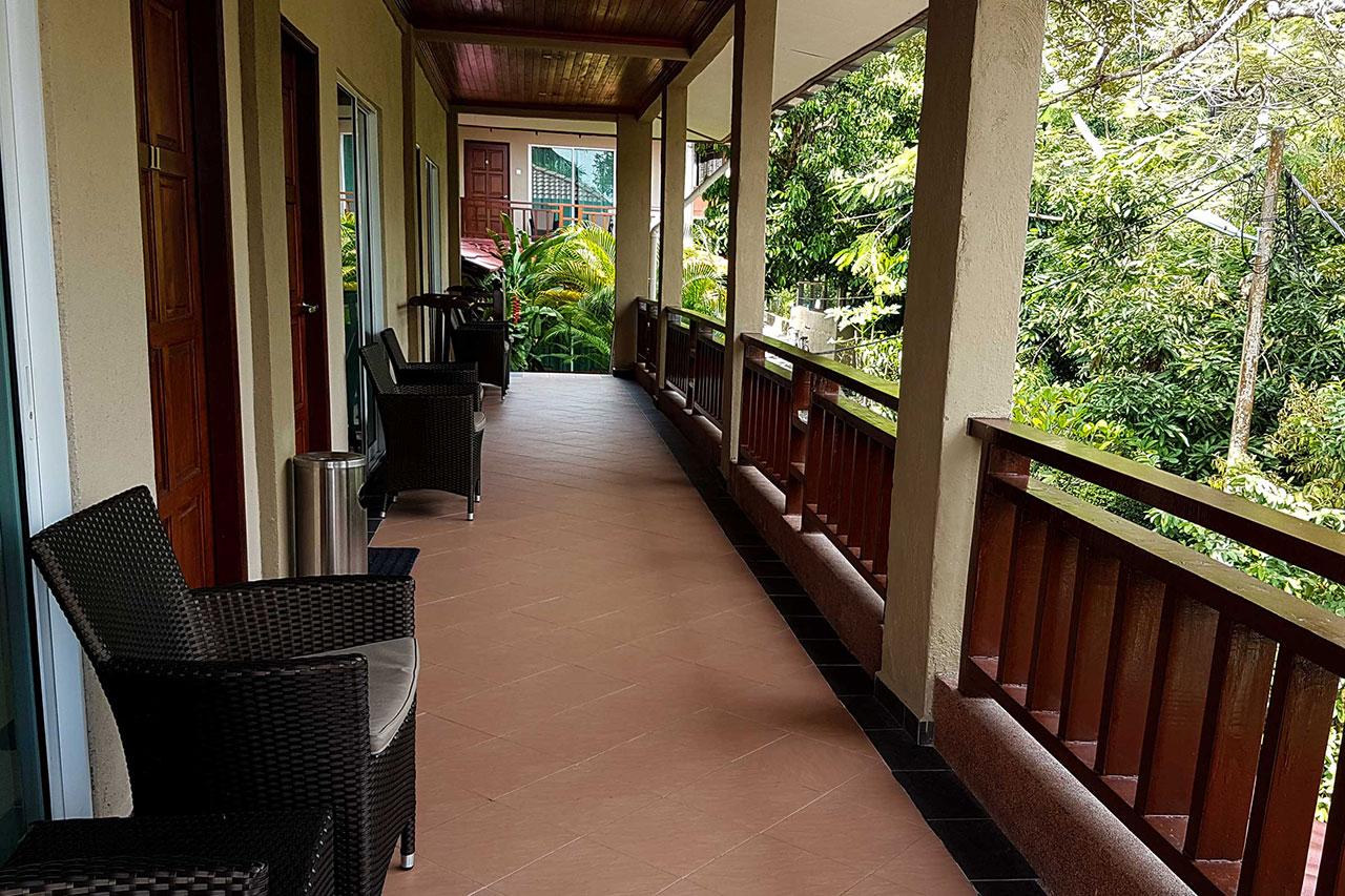 Tioman Dive Resort - Balcony