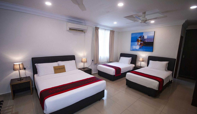 Tioman Dive Resort - Deluxe Quad