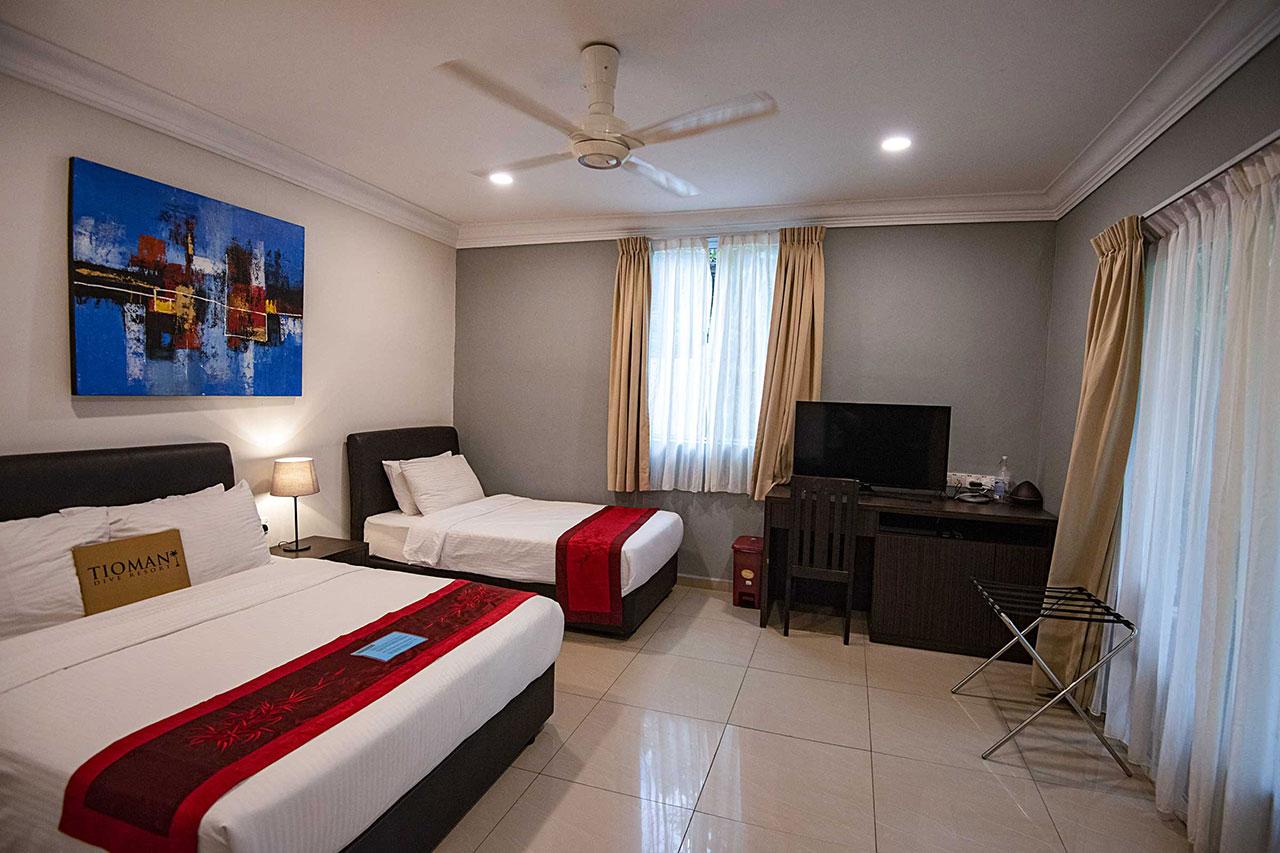 Tioman Dive Resort - Deluxe Triple