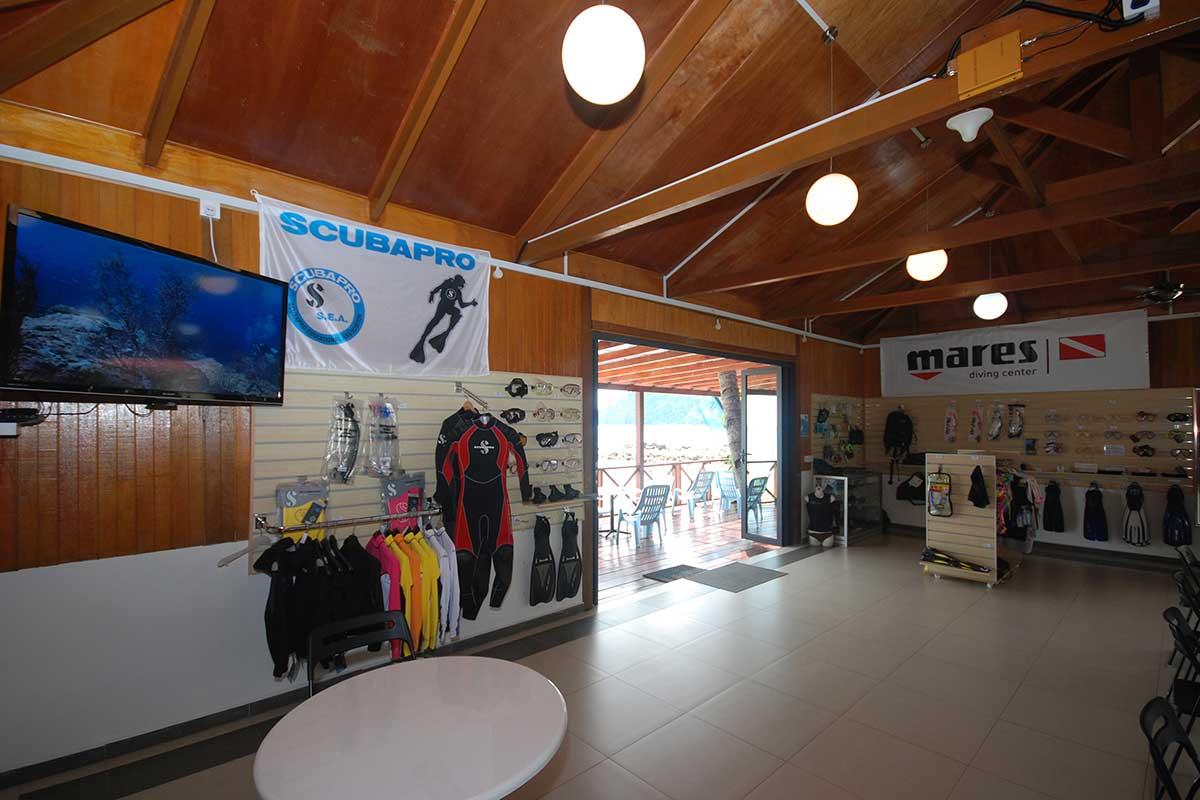 Tioman Dive Resort Reception