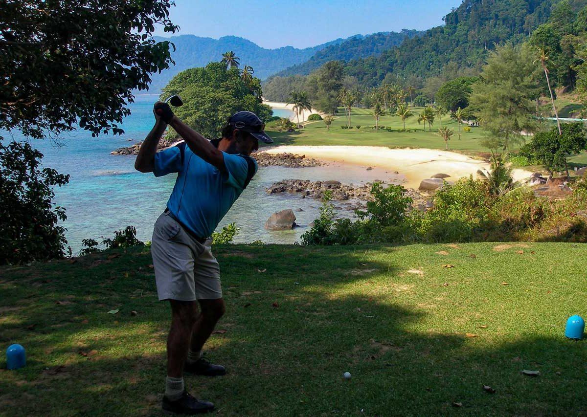 Golf at Berjaya Tioman